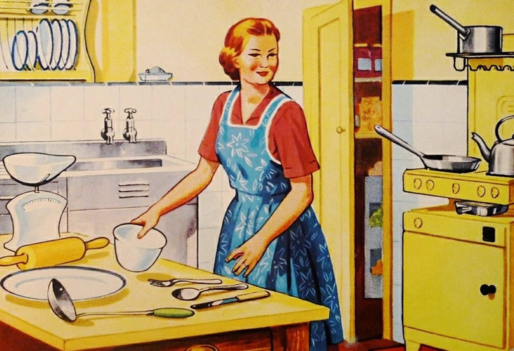 1950s Pregnant Housewife Experiment: Day 1