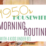 Morning Routine with 4 Kids Under 6
