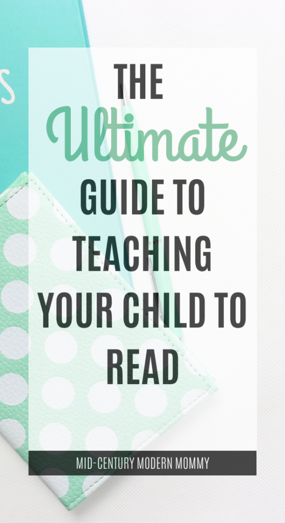 How to Teach Phonics and Teach Your Child to Read