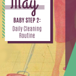Mid-Century May Baby Step 2: Daily Cleaning Routine
