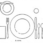Mid-Century May Baby Step 12: How to Set the Table, 50s Style